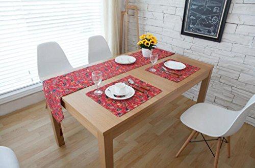 BiuTeFang Tischläufer Tischdecke Bettwäsche, Amerikanische, Western, Tisch, Tischdecke, Couchtisch Flagge 30*180cm