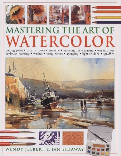 mastering-the-art-of-watercolor-mixing-paint-brush-strokes-gouache-masking-out-glazing-wet-into-wet-