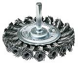 SW-Stahl in filo d' acciaio–spazzola a disco intrecciate, 75mm, per trapani, 62320L