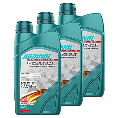 Addinol 3X Motoröl Motorenöl Motor Motoren Motor Oil Engine Oil Benzin Diesel Super Racing 5W-50...