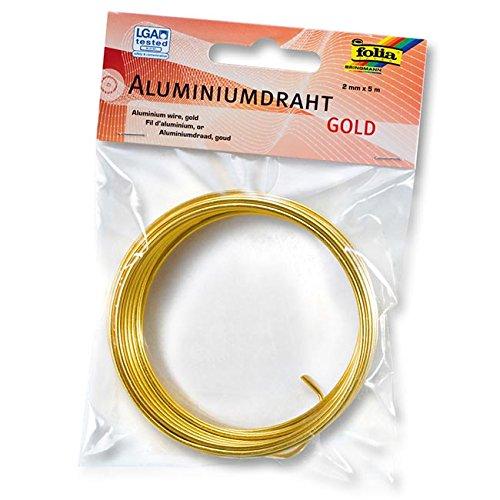 Bringmann Max KG Bastelmaxi Fil Aluminium Or