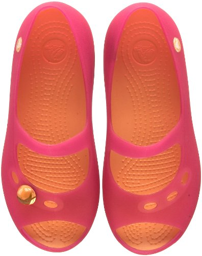 Crocs, Ballerine bambina Fucsia