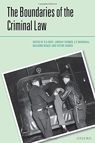 The Boundaries of the Criminal Law (Criminalization)