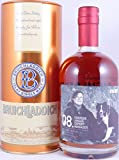 Bruichladdich 1992 22 Years The Laddie Crew Valinch 08 Export Manager Chrissie Angus Bourbon/Spanish Oak Cask No. 8 R07/09-125 Islay Single Malt Scotch Whisky Cask Strength 49,1%Vol.