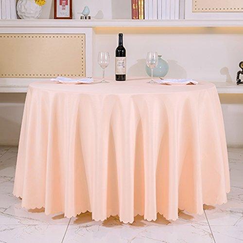 BSNOWF- Nappes Accueil Meeting Mariage Banquet Rectangulaire Nappe Restaurant Hôtel Matière ronde Taille En option ( taille : Round-200cm )