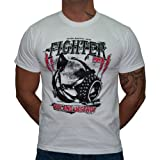Dirty Ray Kampfsport MMA Seek And Destroy Herren Kurzarm T-Shirt K60 (XL)