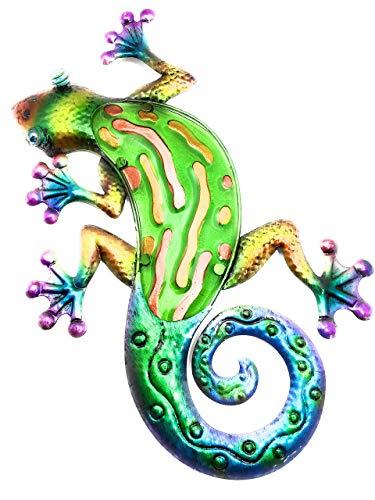 OSW Wanddekoration Gecko, 43,2 cm, Regenbogengrün -