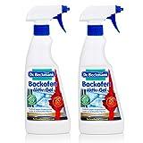 2x Dr. Beckmanns Backofen Reinigungs Aktiv-Gel je 375ml reinigt auch Grill und Pfanne