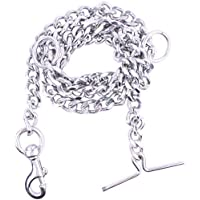 PSK PET MART PSK Dog Chain Silver Grind No.10 (L - 60inch) for Large Dogs