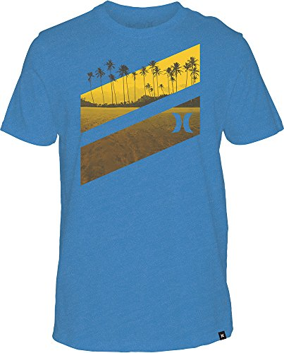 Herren T-Shirt Hurley Icon Slash Lagoon T-Shirt (Icon Tee Hurley)