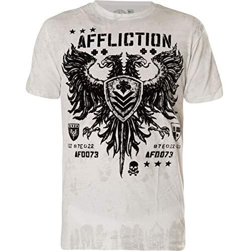 Affliction T-Shirt Value Weiß, XXL - Affliction T-shirts