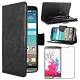 ebestStar - LG G3 Case D855 Wallet Case PU Leather Flip