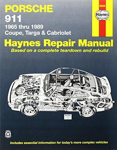 Porsche 911, 1965-1989 (Haynes Automotive Repair Manuals) por John Haynes