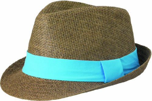 Myrtle Beach Hut Street Style, Brown/Turquoise, L/XL, MB6564 brtq