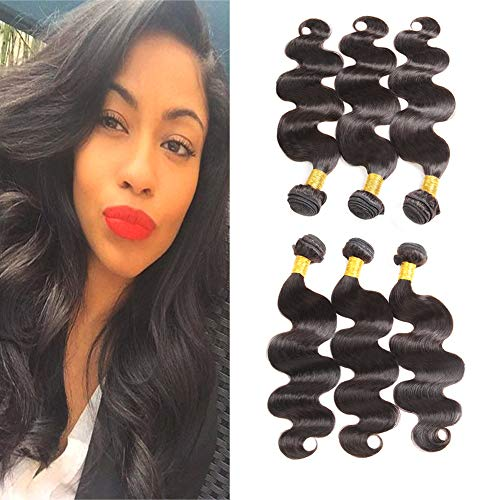 Hair Extensions & Wigs Sleek Brazilian 360 Lace Frontal With Bundle Body Wave Human Hair Bundles With 360 Frontal 2 3 4 Bundles With Frontal Non Remy Superior Performance 3/4 Bundles With Closure