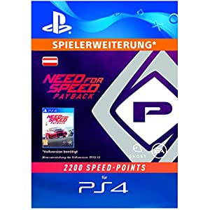 Need For Speed Payback – 2200 Speed Points DLC | PS4 Download Code – österreichisches Konto