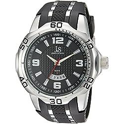 Joshua & Sons Reloj de cuarzo Man JX110SSB 53 mm