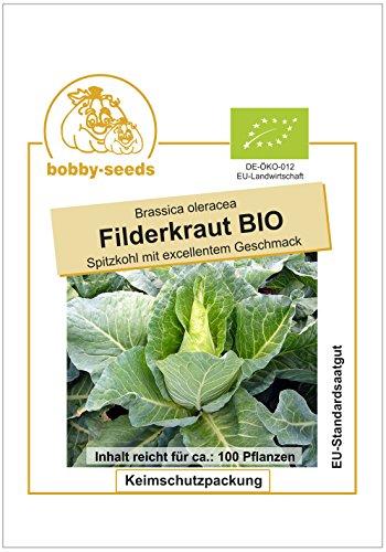 Bobby-Seeds Bio-Kohlsamen Weißkohl Filderkraut Portion