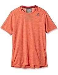 adidas SN S/S M - Camiseta para hombre, color naranja, talla XL