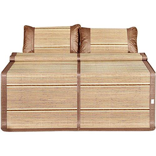 Liuyu · Matelas frais Mahjong d'été mat 1.5m Matelas dortoir simple étudiant 0.9 Mètre 1.2 Matelas bambou double face Mat d'été 1.8m lit (taille : 100 * 195cm)