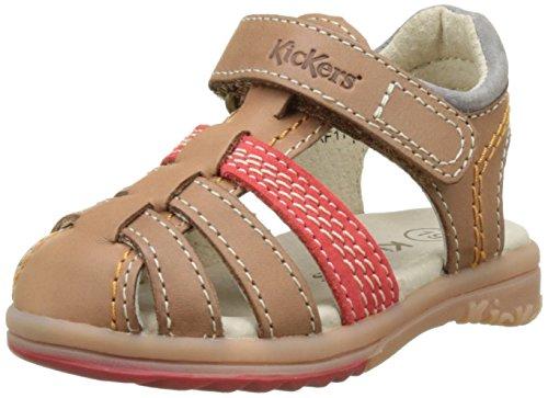 kickers-platinium-sandales-bebe-garcon-marron-camel-rouge-23-eu
