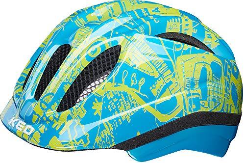 KED Meggy Trend Helmet Kids Blue Yellow Kopfumfang S | 46-51cm 2019 Fahrradhelm