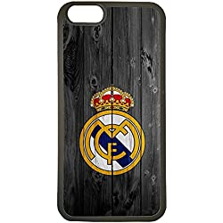 Carcasas de movil fundas de tpu compatible con iphone 6 real madrid escudo