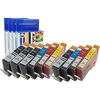10 Pack Compatibile per HP 364XL Cartucce d'inchiostro 4x Nero