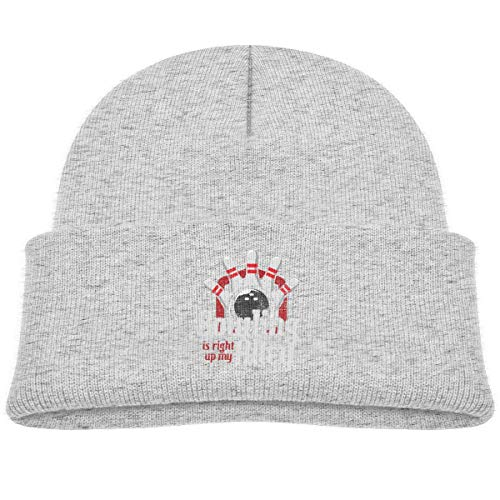 LLALUA Bowling is Right Up My Alley Beanie Cap Knit Hat Baby Boy Butterfly Beanie Baby