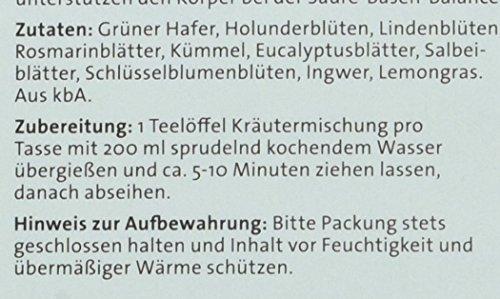 Herbaria Basen Kräutertee, 1er Pack (1 x 60 g Tüte) – Bio