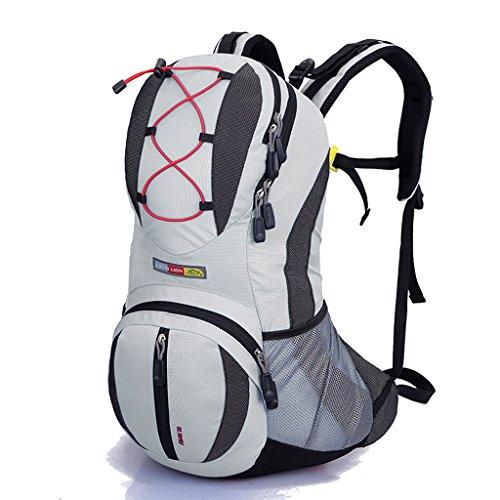 Sac à dos en plein air sac de randonnée pédestre sac à dos de camping unisexe multicolore en option