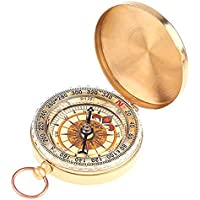 SaySure - Classic Brass Pocket Watch Style