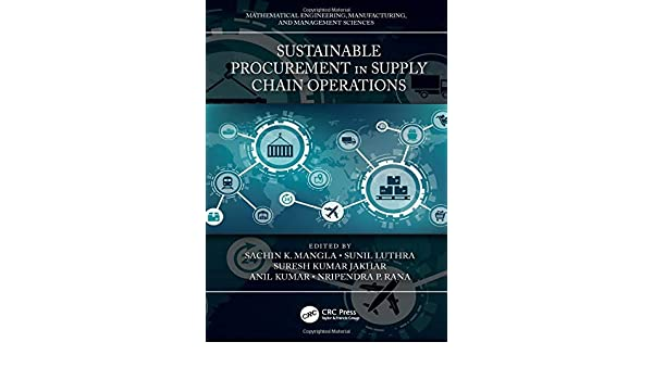 Buy Sustainable Procurement in Supply Chain Operations