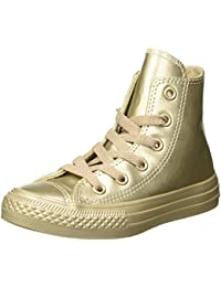 Converse Ctas Hi Metallic Synth Leather, Zapatillas Altas Unisex Niños