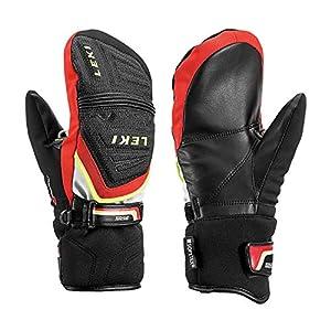 Leki Race Coach C-Tech S Junior Mitten Handschuhe (schwarz/rot)