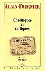 Chroniques et Critiques