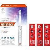 elmex OMRON ProClinical 3 Mode Schallzahnbürste und Colgate MAX WHITE EXPERT WHITE Zahnpasta