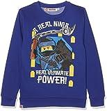 LEGO Ninjago Jungen Sweatshirt 160969, Bleu (Surf The Web 19-3952tcx), 10 Jahre