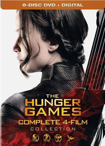 The Hunger Games: Complete 4 Film Collection [Import USA Zone 1]