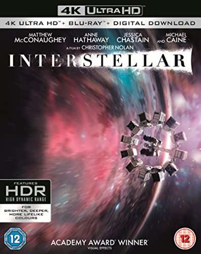 Bild von Interstellar 4K UHD + Blu Ray / Import / Region Free