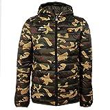 ellesse Jacke Herren LOMPARDY Padded Jacket Camouflage Camo Print, Größe:L