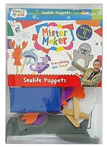 Mister Maker 88466 Sealife - Kit de Manualidades para Mascotas
