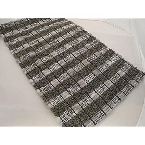 Pogo{41} tessuto a mano tappeti tappeto Paulig collezione 60 x 40 cm marchi kuheiga ZERBINO lana