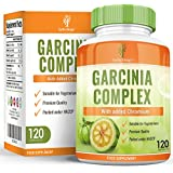Complejo Garcinia Cambogia Plus con grano de café verde y extracto de té verde. Máxima concentración para adelgazar. La manera perfecta de empezar una dieta – 120 cápsulas de doble concentración 500mg