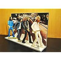 ACTION FIGURES - Statuette - Action-Figuren mit den Beatles Abbey Road Landschaft