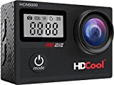HDCool Action Kamera 4K Wifi mit 170 Wasserdichte Unterwasser Video Sports Cam Grad...
