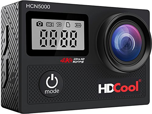 HDCool Action Cam 4K 20MP Wifi Action Camera Lenti Super Grandangolo a 170...