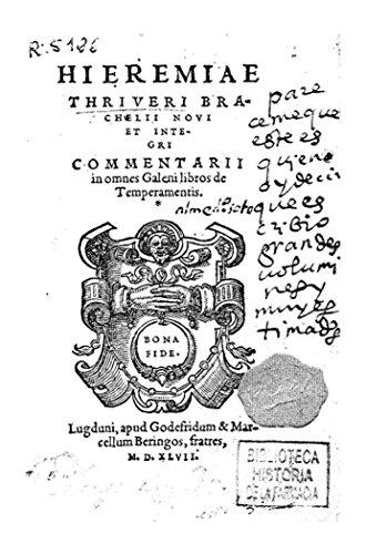 Hieremiae Thriveri... Commentarii in Omnes Galeni Libros de Temperamentis por Jérémie de Dryvère