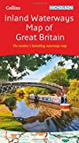 Collins Nicholson Inland Waterways Map of Great Britain (Nicholson Waterways Map)