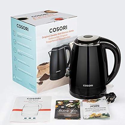 COSORI-Wasserkocher-Edelstahl-Elektrischer-Wasserkessel-2200W-15L-mit-Edelstahl-Innenraum-BPA-Frei-Auto-off-Trockenlaufschutz-Doppelwand-Design-Cool-Touch-Einfache-Reinigung-Schwarz